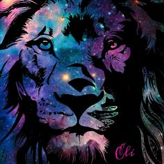 #galaxy #lion | Technicality of e3 = {0, 0, 1}: https://www.pinterest.com/pin/368943394459434592/
