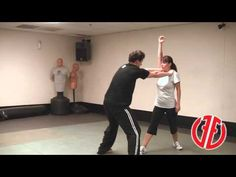Krav Maga: Choke from Front, How To Fight, Real Self Defense Techniques