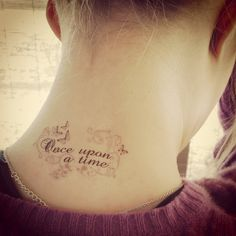 once upon a time tattoo   Request a custom order and have something made just for you.