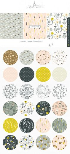 The Happy Little Calendar Templates & Clipart Collection – Lisa Glanz – Graphics for creatives – pattern Whimsical Fonts, Create A Calendar, Illustrator Cs5, Selling Design, Tool Design, Design Process, Journal Stickers, Surface Pattern, Adobe Photoshop