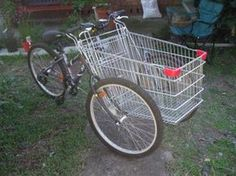How to build a basket bike