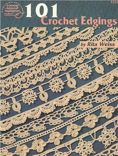#205  Crochet Lace Edging Border Trim