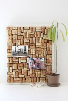 Put them corks to good use!