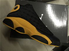 Nike Air Jordan 13 Retro Melo P.E. Unreleased Black Yellow