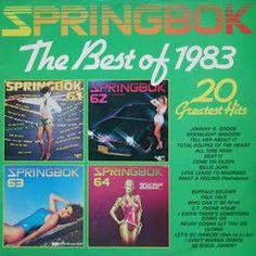 Springbok: Springbok Hit Parade Best Of / Top Hits Album Covers, Hot, Nostalgia, Torrid