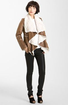Mcginn Faux Shearling Jacket available at #Nordstrom
