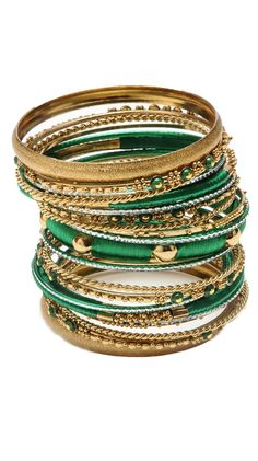 Richa Bangle Set by Amrita Singh