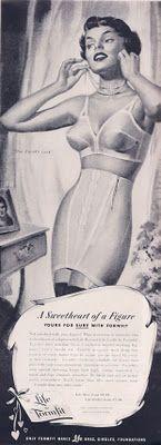 Formfit Bras and Girdles  #Vintage bras #girdles #bullet bras #1950s