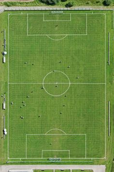 The beauty of the pitch