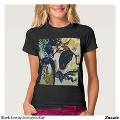 Black Spot Tee Shirt #forsale #sale #productsforsale #black #T-shirt #forwomen