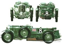 Bentley 4.5 litre Supercharged (1930)