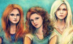 Ginny, Hermione & Fleur... <3
