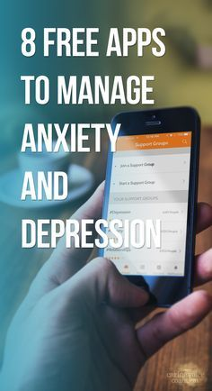Apps that work with evidence-based cognitive behavioral therapy for managing anxiety and depression. http://www.caringvoice.org/2016/10/8-free-apps-to-manage-anxiety-and-depression/ #anxiety #depression #chronicillness #spoony #tech