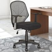 Found it at AllModern - Workspace Mid-Back Mesh Office Chair with Arms