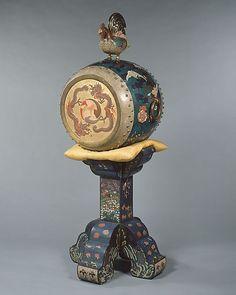 O-daiko drum  Japan, 1873  The Metropolitan Museum of Art