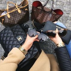 chanel, Louis Vuitton, and Michael Kors image