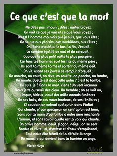 Ce Que Cest Que La Mort Victor Hugo