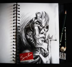 20 Sketchbook Drawings and Illustrations by PEZ