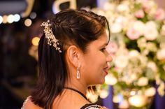 Noiva Gisele Cabelo: Elaine Lima Acessório:Carmen Nazar Noiva Foto: David Arrais #noiva #makeup #diadanoiva #beauty #vemproprya #prya
