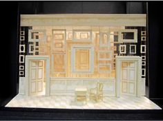 The Madness of King George III. Janet Bird. Set Design Theatre, Prop Design, Stage Design, Design Model, Theatrical Scenery, Destination Imagination, Romeo Y Julieta, Futuristic Furniture, Scenic Design