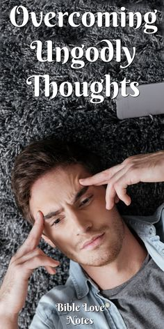 5 Ways To Rid Your Thoughts of Sinful Desires. This devotion unpacks the way a thought turns into a sin and offers ways to defeat those thoughts. Prayer Scriptures, Bible Prayers, Bible Verses, Bible Quotes, Prayer Quotes, Motivational Quotations, Christ Quotes, Bible Art, Spiritual Warfare