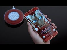 Iron Man Galaxy S6 Edge Arrives With An Arc Reactor Charger | TechCrunch