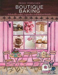 cake cookies, treats, peggi porschen, boutiques, cakes, teatim treat, book, boutiqu bake, baking