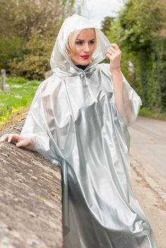 Large range of womens high fashion, designer and everyday rainwear. British manufactured high quality trenchcoats, capes, jackets overtrousers and a full range of festival clothing. Capes, Imper Pvc, Festival Poncho, Rain Cape, Rubber Raincoats, Pvc Raincoat, Bronze, Cape Coat, Rain Wear