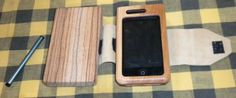 iPhone Wax Tablet Cover - excellent idea for when you need modern but wish to hide it in the past.
