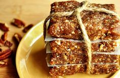 Oh hell yes!  Whole30 compliant: Homemade Pecan Pie Larabars