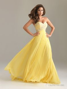 """Ive always dreamed of having a """"yellow"""" gown..."""