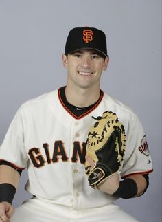This is a 2015 photo of Andrew Susac of the San Francisco Giants baseball team.