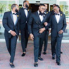 Handsome Guys! #DapperAllTheWay #GroomInspiration #ChattingAllTheWay Photo via @ugoforeveryoung #9naijaBrides