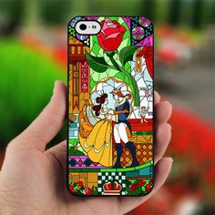 Beauty and Beast glass - photo on hard cover for iphone 4/4S  WHY NOT FOR ANDROIDS?!