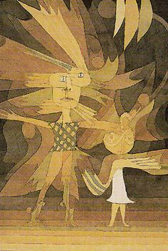 Paul Klee - Spirits Figures from a Ballet 1922