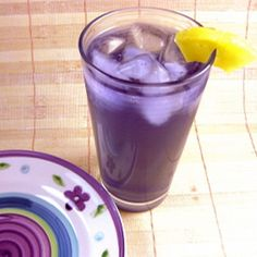 The Purple People Eater is – you guessed it – a purple cocktail. This one is all about a delicious way to imbibe a moderately large quantity of alcohol quickly. It blends lots of fruity flavors with amaretto and some actual fruit juices, which enables it to sneak... #amaretto #brandy #chambord