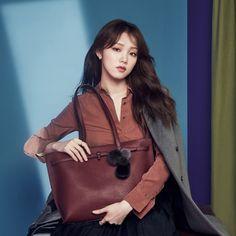 Lee Sung Kyung - Lovcat (F/W '16) Ahn Hyo Seop, Lee Sung Kyung, Weightlifting Fairy Kim Bok Joo, Korean Model, Korean Actresses, Girl Crushes, Kdrama, Cool Hairstyles, Singer