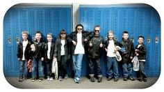 The cool boys in school