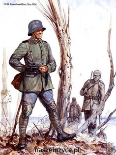 Prussian NCO of the 5th Sturm-pionier Bataillon ''Rohr'' at Verdun 1916