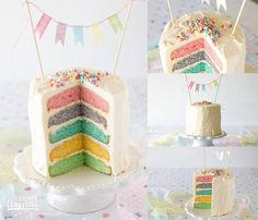 Recipe for Wilton 5 layer rainbow cake