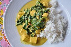 Gilla Vego!: Härlig värmande spenatgryta med tofu