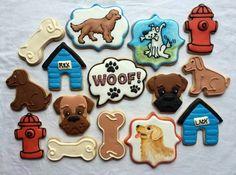 66 Best Dog Cookies images in 2018 | Cupcake cookies