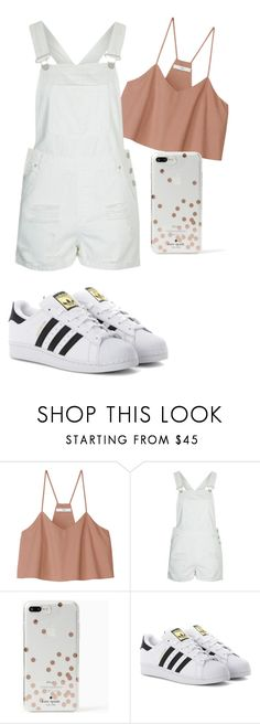 """""""Outfit To Wear #2"""" by bethany-franco on Polyvore featuring TIBI, Topshop, Kate Spade and adidas Originals"""