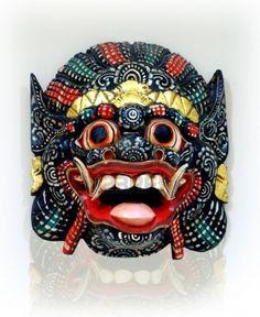 Indonesian mask                Stock Photo