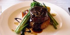 Peppered Grilled Elk Medallions with Red Wine Sauce & Lingonberry Compote from the Flying B Ranch Kitchen
