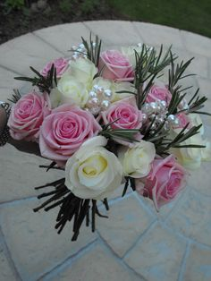Bridal Hand-Tied Bouquet by Brig's Flowers