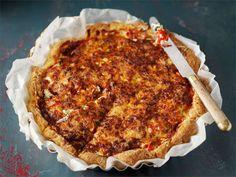 Gluteeniton kinkkupiirakka Fodmap Recipes, Low Fodmap, Tea Time, Brunch, Pie, Gluten Free, Treats, Baking, Breakfast