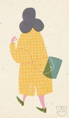 I`m thinking about getting myself a new coat, by Barbara Dziadosz.