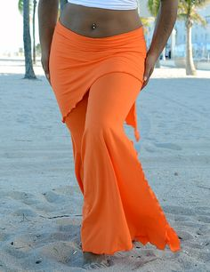 Cotton Gothic Belly Dance Pants