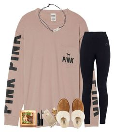 """Comment what you want for Christmas!"" by kyliegrace ❤ liked on Polyvore featuring beauty, Victoria's Secret, NIKE, Casetify, UGG, Kendra Scott and NARS Cosmetics"
